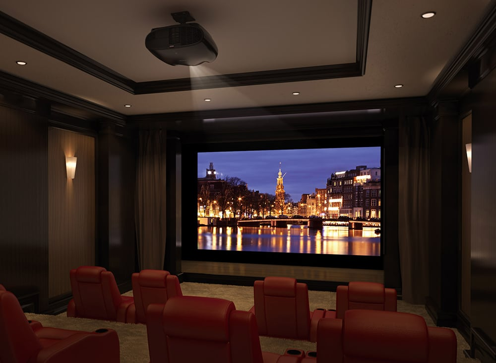 Home theater projectors projector reviews for A small projector