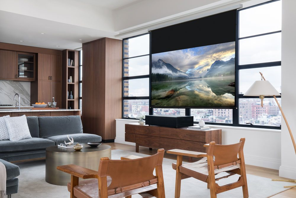 Sony Vz1000es Projector Living Room Daylight