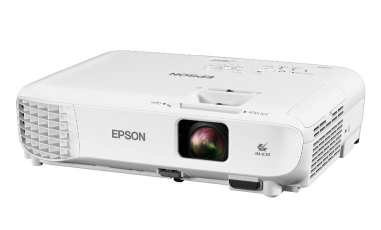 Epson Home Cinema 760HD Front Angled Left