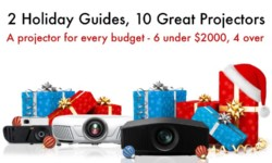 Two Holiday Guides, Ten Great Home Projectors