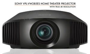 Sony VPL-VW285ES Home Theater Projector Featured Image