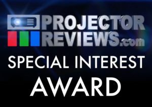 Projector Reviews Special Interest Award