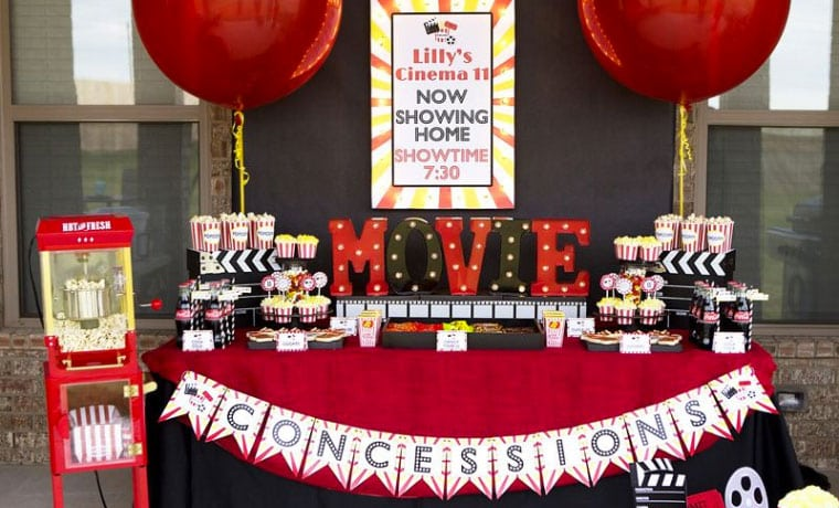 How To Make Your Child S Movie Night Birthday Party One To Remember Projector Reviews