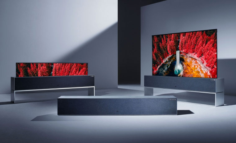 LG Signature OLED TV R at CES 2019 – Projector Reviews