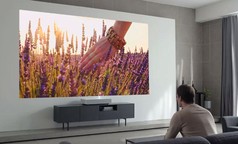 The LG is a smaller UST projector