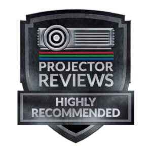 Highly recommended projector award