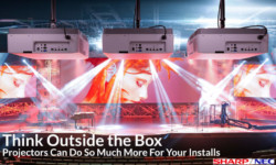 THINK OUTSIDE THE BOX – SHARP NEC PROJECTORS CAN DO SO MUCH MORE FOR YOUR INSTALLS
